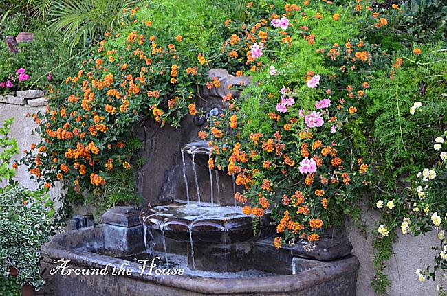 Garden Water Feature Tiered Fountain