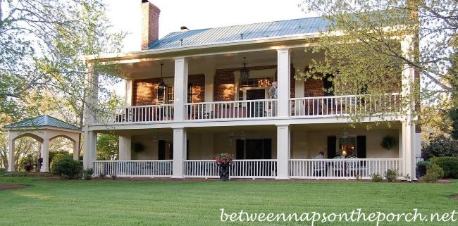 Porch Designs & Ideas: Build a Two-Story Porch or Double Porch