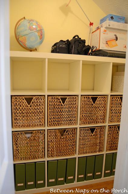 Ikea Expedit Used in Closet