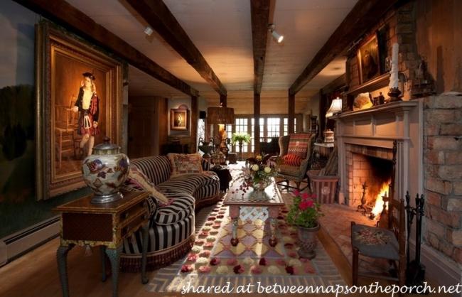 MacKenzie-Childs Estate Living Room