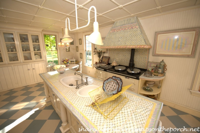 Kitchen in MacKenzie-Childs Estate