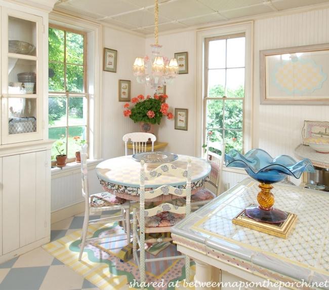 Breakfast Area in MacKenzie-Childs Estate