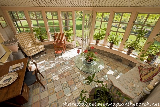 Sunroom in MacKenzie-Childs Estate