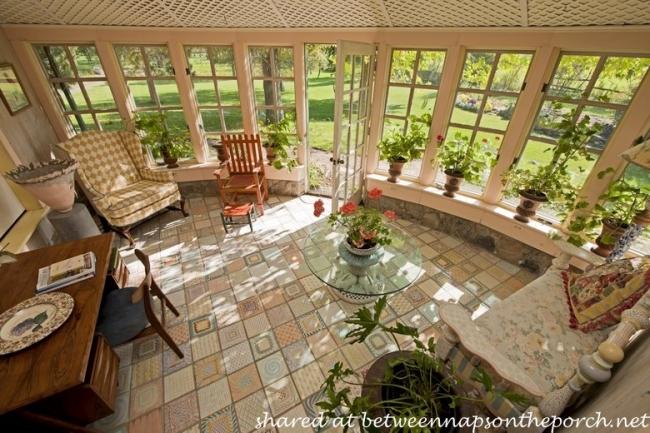 Sunroom in MacKenzie-Childs Estate