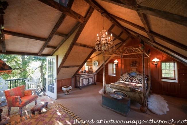 Treehouse Bedroom in MacKenzie-Childs Estate