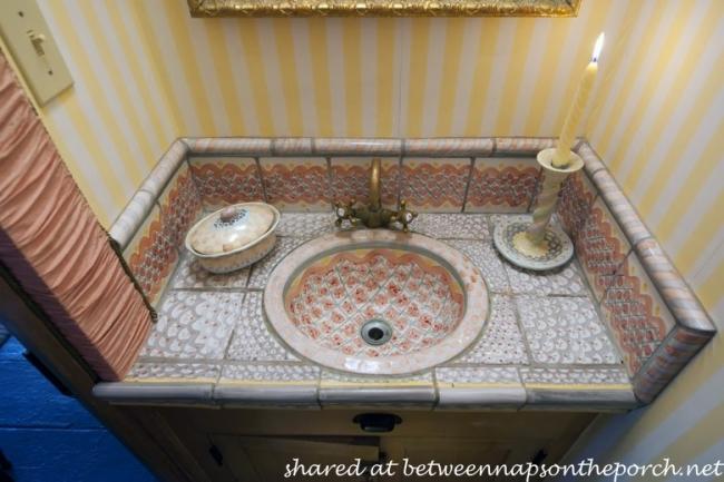Bath in MacKenzie-Childs Estate
