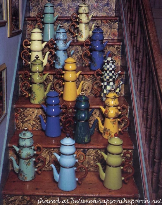 MacKenzie-Childs Teapots