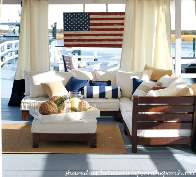 Make a Rustic Wood Flag for Patriotic Holidays