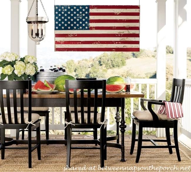 Make a Wood Flag for Patriotic Holidays