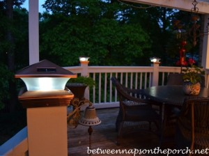 Solar Cap Lights for Deck Posts