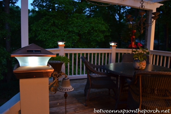 Solar Cap Light For Deck Posts
