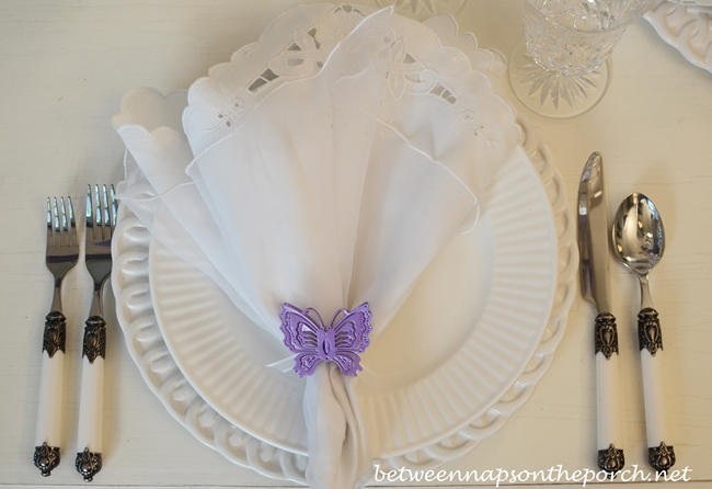 Spring Table Setting, Place Setting