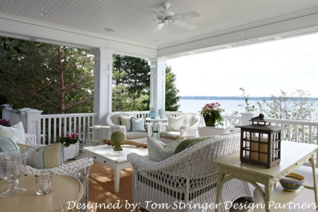 Porch on Waterside Cottage