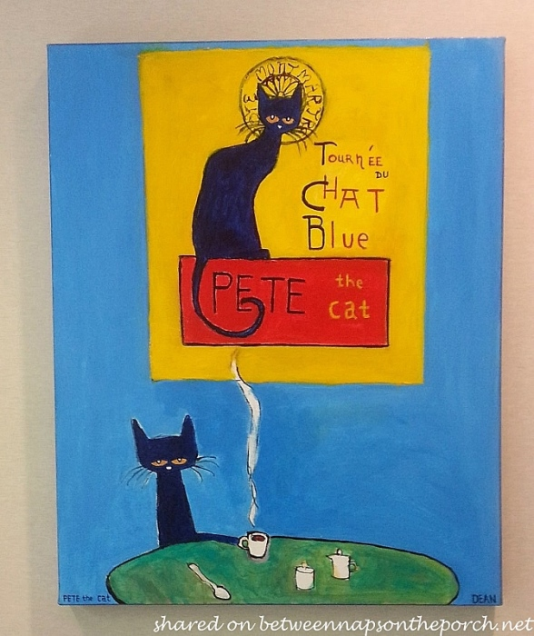Tour of the Blue Cat, Pete the Cat by Deen