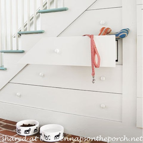 Under-stair Storage in Southern Living Idea House
