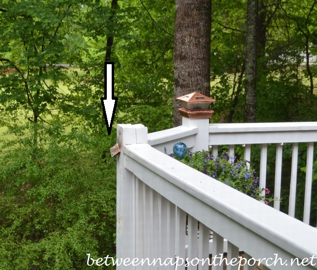 Use Dremel to Remove Rusted Bird Feeder Shepherd's Hook
