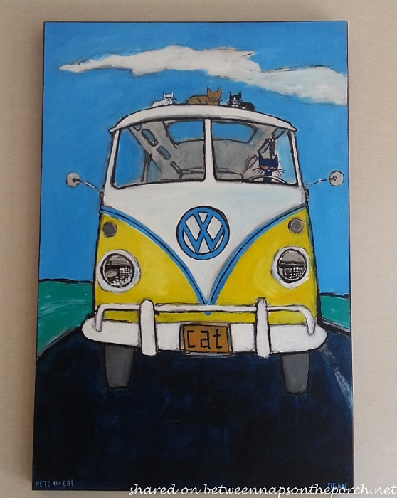 Volkswagen Van, Pete the Cat by Deen