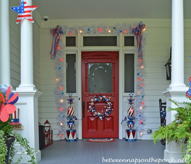 4th of July Decorations for Front Door