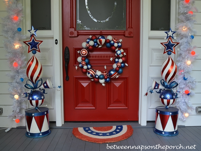 4th of July Door Wreath