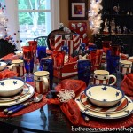 Stars & Stripes Patriotic 4th of July Table Setting