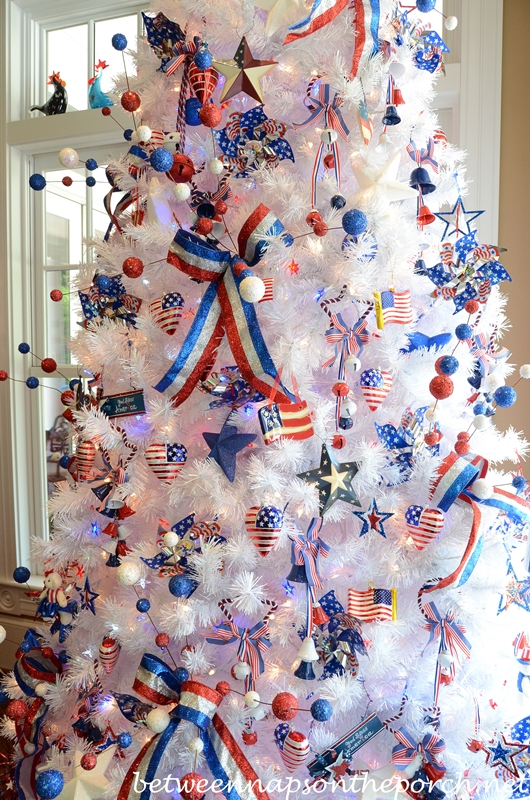 4th of july tree - 4th Of July Decorations