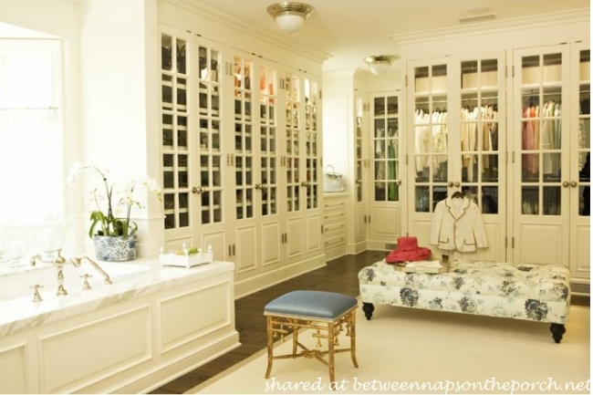 Beautiful Closet Designed by James Radin Interior Design