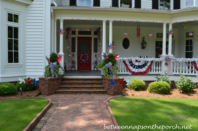 Decorating for the 4th of July and Patriotic Holidays