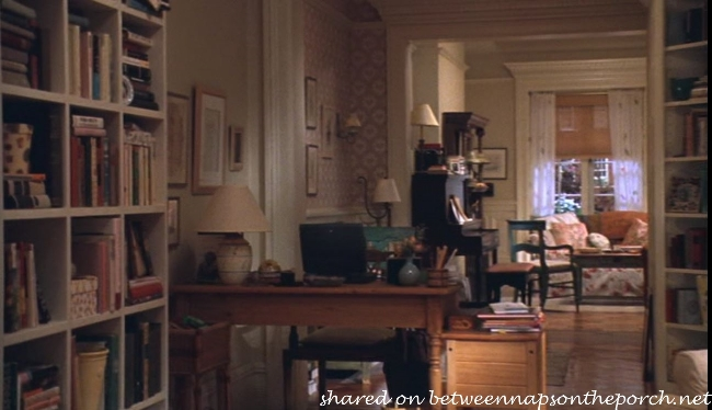 Desk in Kathleen Kelly's New York Brownstone in Movie, You've Got Mail