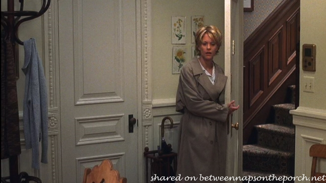 Entrance to Apartment in Movie, You've Got Mail