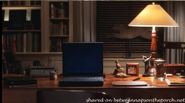 Joe Fox's Writing Desk in Movie, You've Got Mail