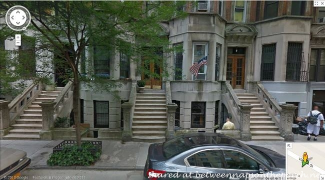 Meg Ryan's Brownstone Apartment in Movie, You've Got Mail_wm
