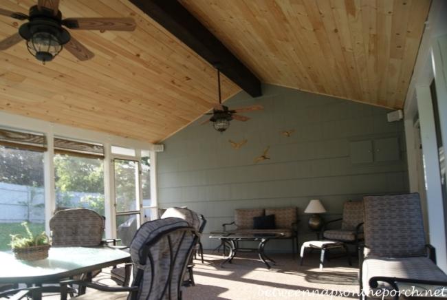 Screened Porch Addition 3