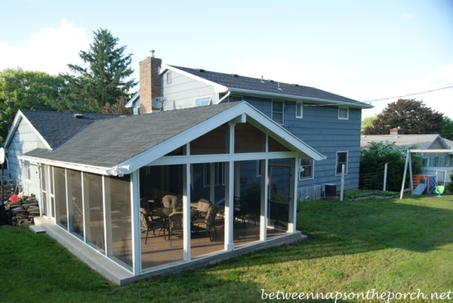 Screened Porch Addition 4