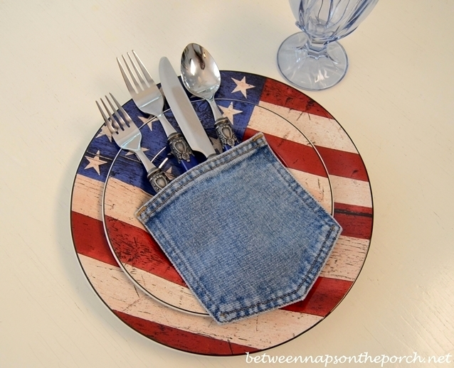 4th of July Table Setting Ideas