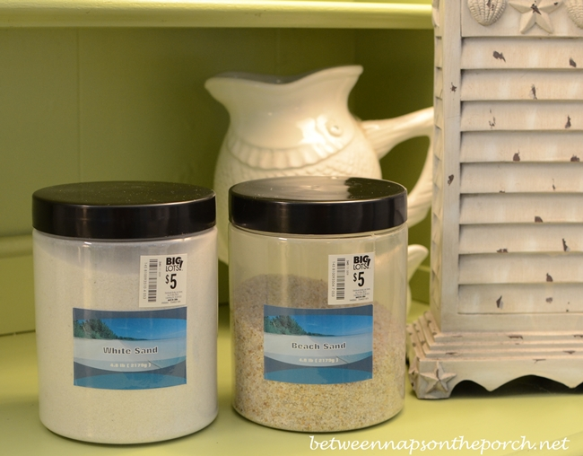 Beach Sand for Crafting