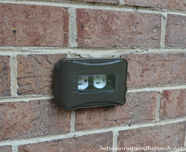 Brown Outdoor Outlet