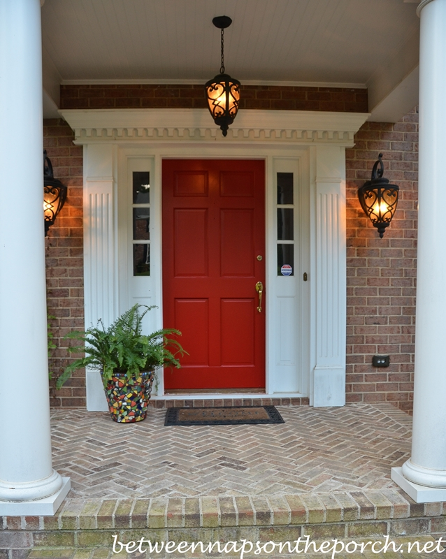 Front Porch with Red Door 2_wm