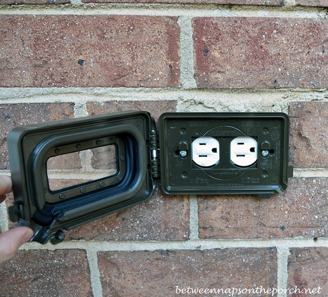 New Brown Outdoor Outlet