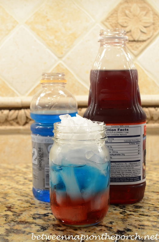 Patriotic Punch for 4th of July Party