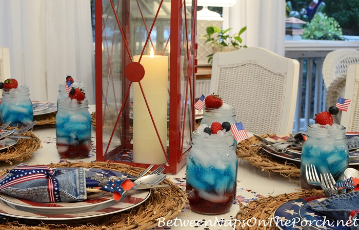 Patriotic Punch for 4th of July, Patriotic Holidays