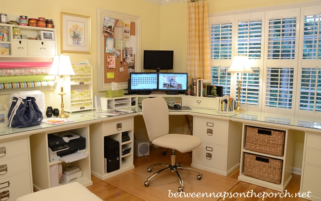 Pottery Barn Bedford Office with Airgo Desk Chair