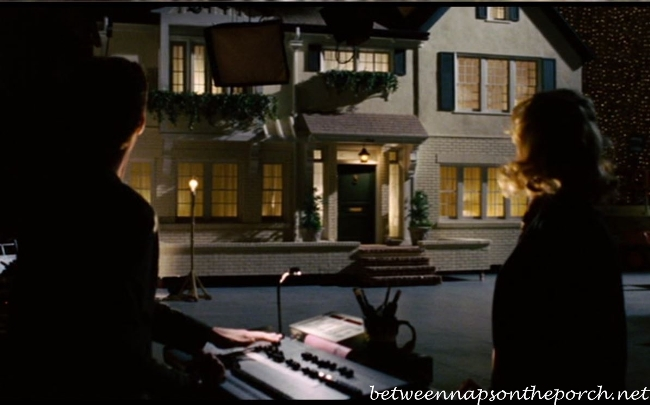 TV Studio Set within the Movie, Bewitched Starring Nicole Kidman and Will Ferrell 5