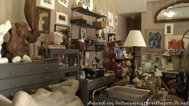 Art Studio in Movie The Big Wedding