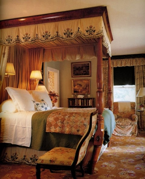 Decorating english country style for English country bedrooms