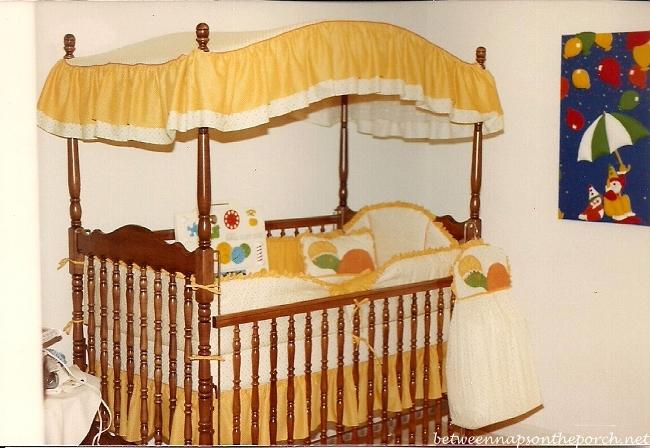 Canopy Bed in Nursery