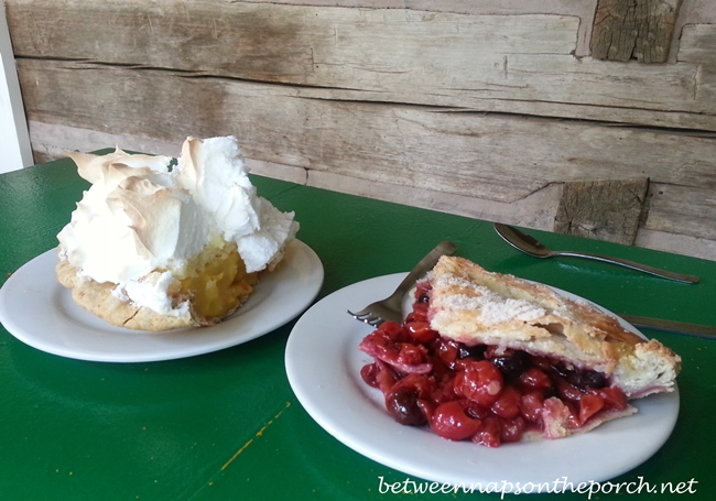 Cherry Pie at Greenwood's on Green Street Restaurant