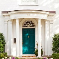 Paint Your Front Door Heritage Red or Peacock Blue