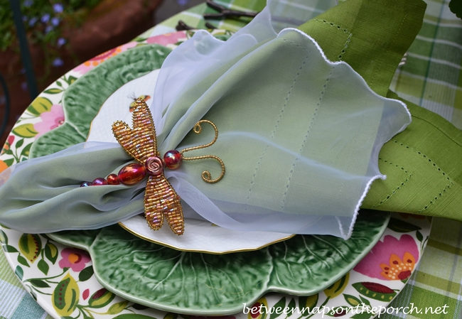 Dragonfly Napkin Rings