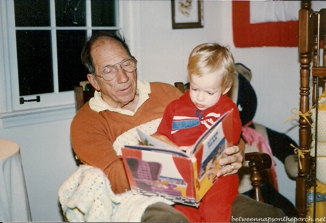 Grandpa Reads a Bedtime Story