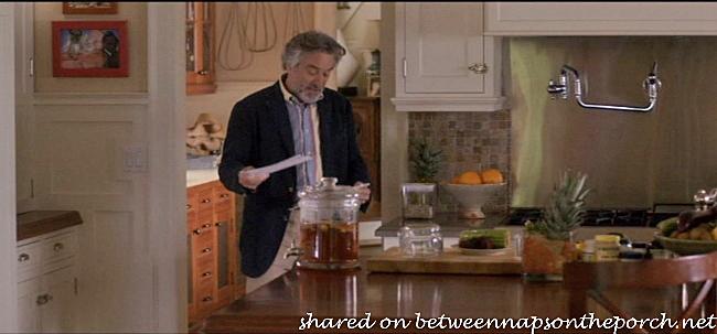 Kitchen in movie The Big Wedding